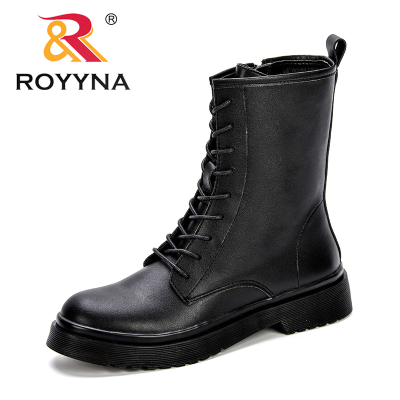 Women Mid Calf Boots Shoes Woman