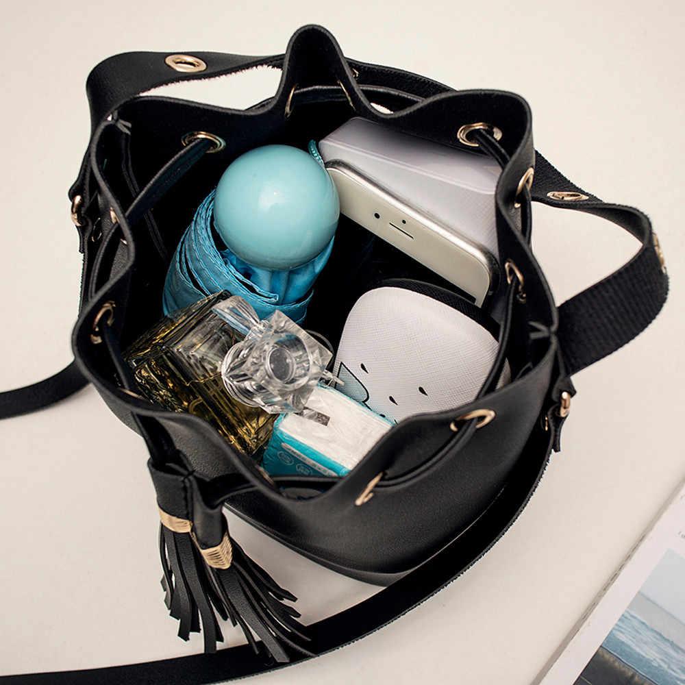 ผู้หญิง Candy สีไหล่กลับขนาดเล็กพู่ torebki damskie sac a หลัก femme de marque soldes bolsos mujer
