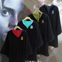 Harri Potter Cosplay Costume de Gryffondor Serpentard Serdaigle Poufsouffle de Robes de Cravates Harry de Manteaux Pour Adultes Ou Enfants