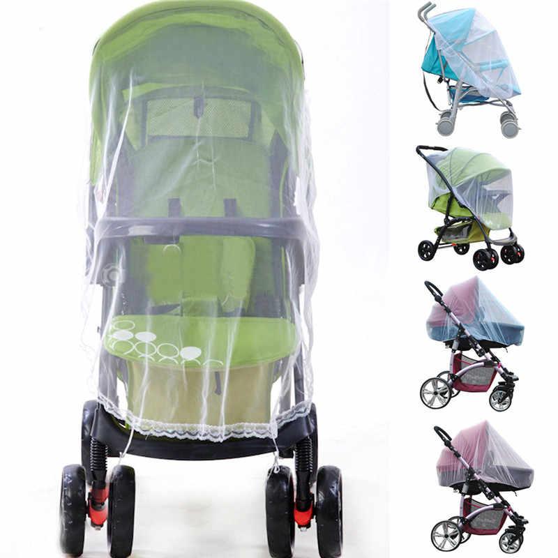 Coxeer Baby Safe колыбели Сетки от комаров для коляски Переноски насекомое сетки с полное покрытие полог Ciel de lit розовый синий