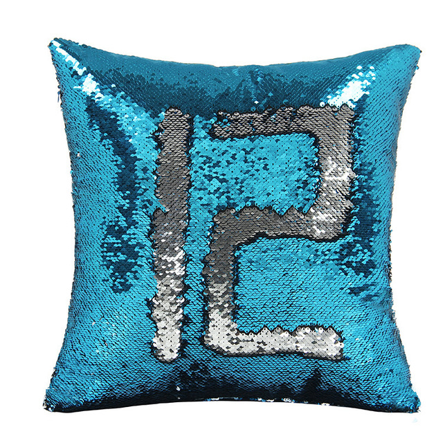 Sequin Pillow Cover Mermaid Sequin Cushion Cover Cushions For Sofas Decorative Cushion Covers Car Seat Cushion