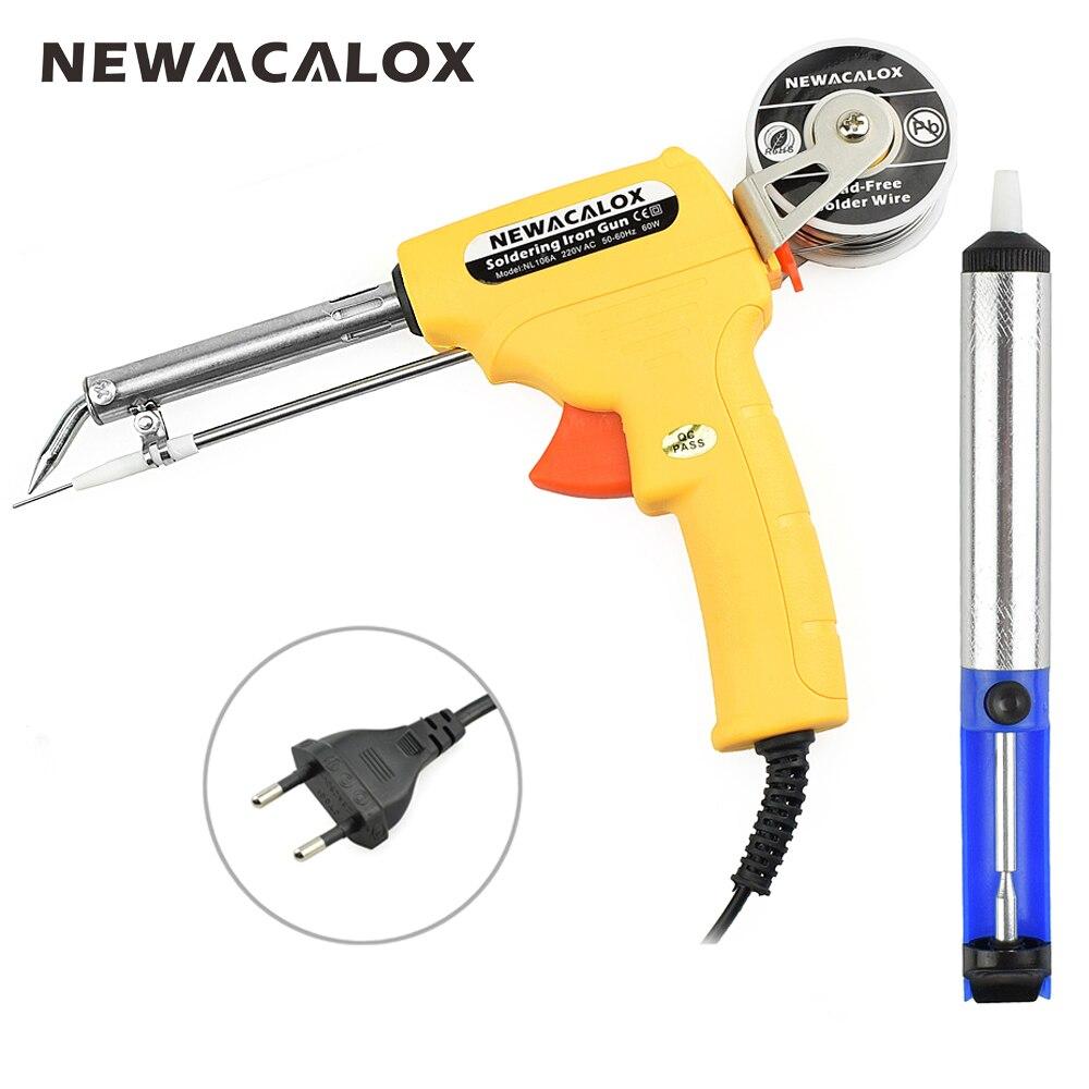 NEWACALOX 220 V 60 Watt EU Automatische Senden Pistole Elektrische ...