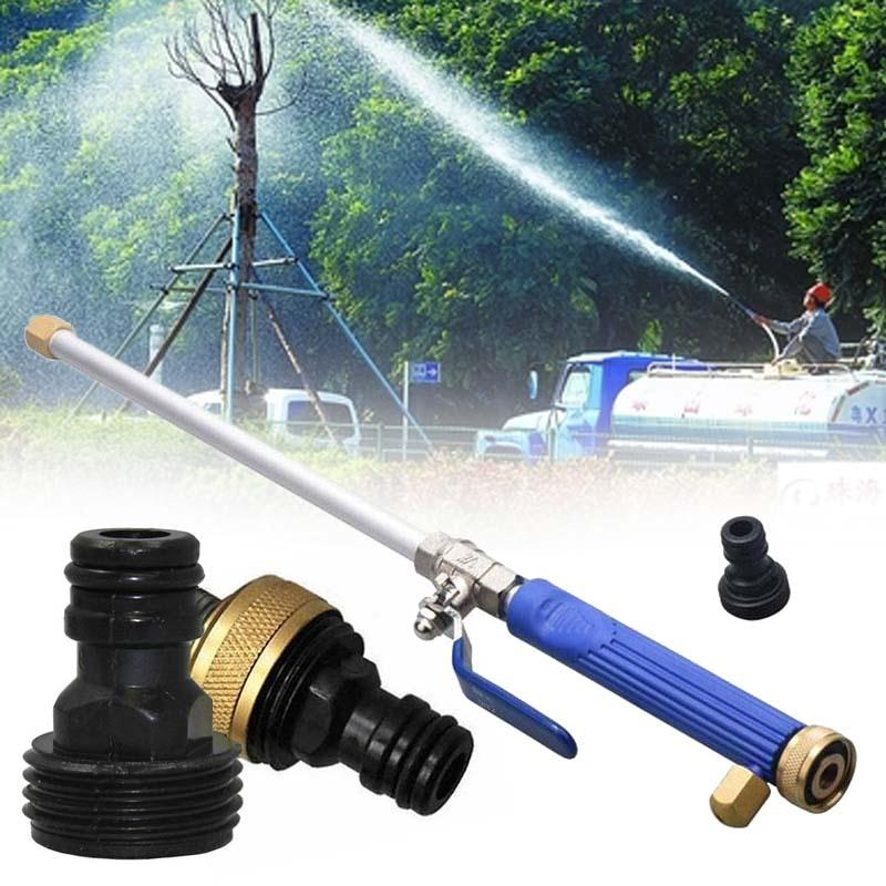 High Pressure Spray Nozzle Water Torch Garden Powerful Washer Tool Home ...