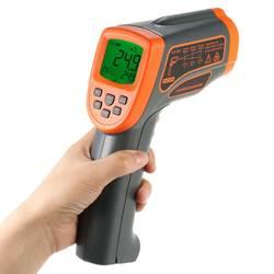 Новый термометр-18 до 1650 градусов электронный пирометр цифровой инфракрасный термометр цифровой Бесконтактный ИК инфракрасный термометр