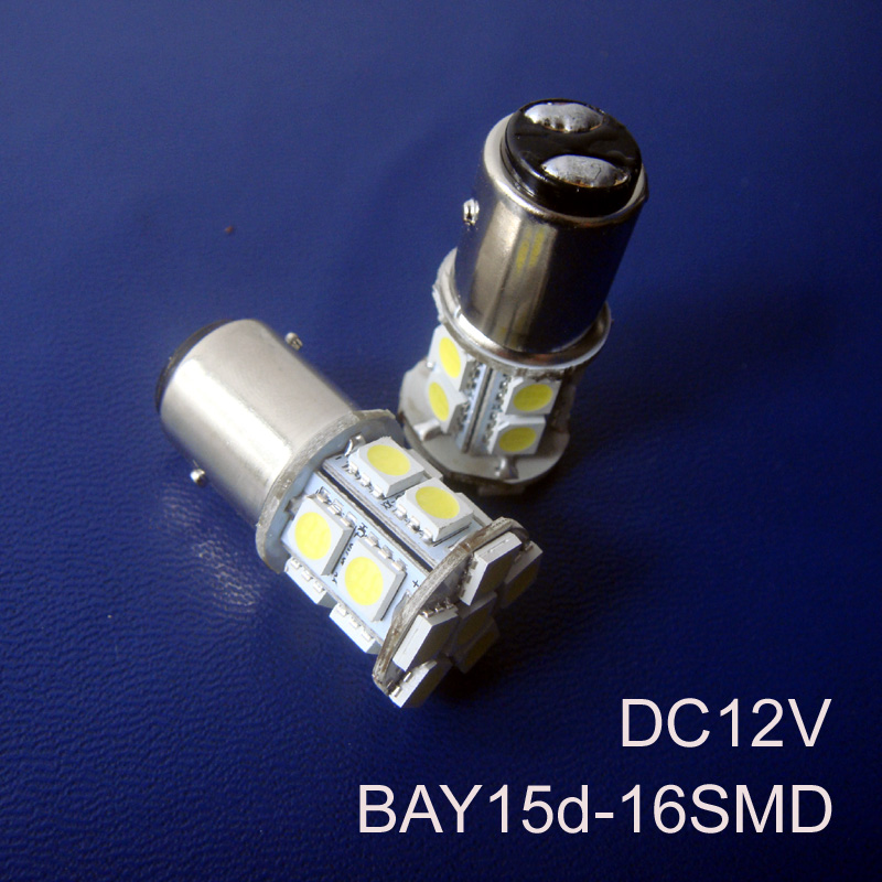 High quality DC12V 1157 BAY15d BAZ15d Car Stoplights,Parking lights,PY21/4W P21/5W Led Brake Light Bulb free shipping 2pcs/lot