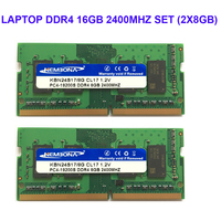 Kembona LAPTOP DDR4 16GB KIT(2X8GB) RAM Memory 2400mhz 2666MHZ Memoria 260 pin SODIMM RAM Stick free shipping