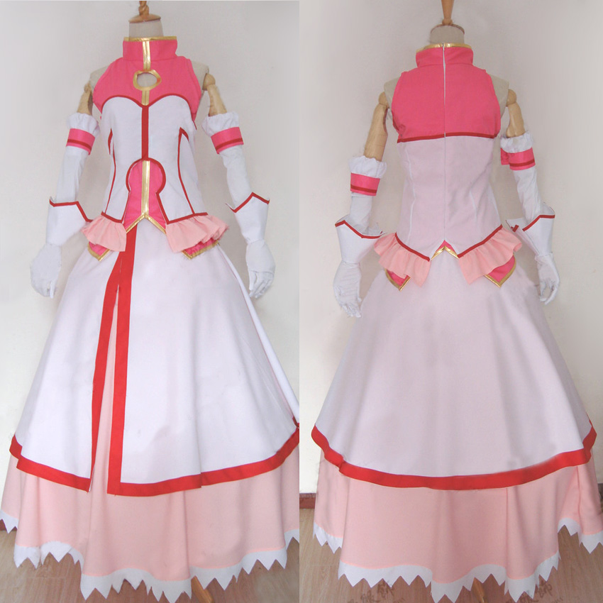 Anime Party Dress Dog Days Millhiore F. Biscotti Cosplay Costume Custom Made Any Size
