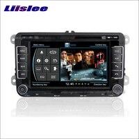 Liislee For Skoda Octavia 2006~2012 GPS Nav Navi Map Navigation System Radio TV DVD BT iPod WIFI HD Screen Multimedia System