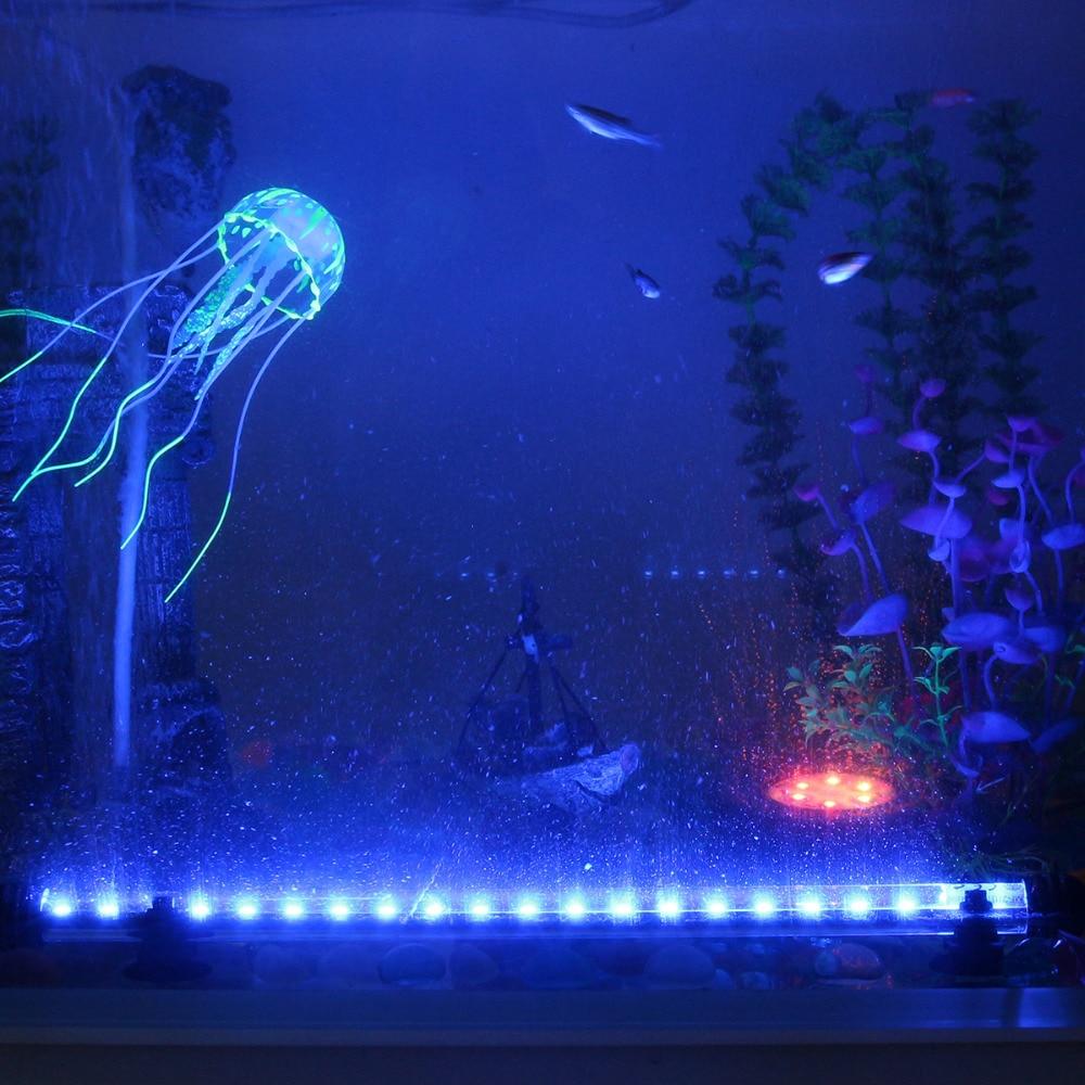 Vodoodporne LED akvarijske luči Fish Tank Light Bar modra / bela - Izdelki za hišne ljubljenčke - Fotografija 5