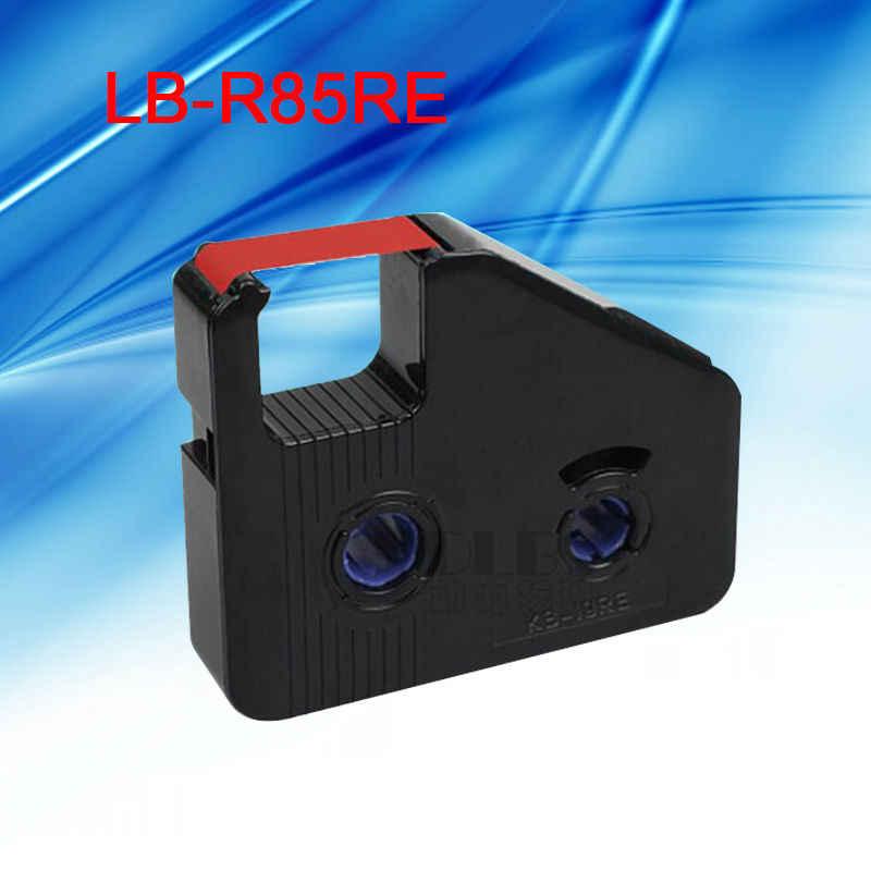 1 unidad LB-R85WH cinta de tinta casete blanco Cinta de transferencia térmica máquina de letras electrónica impresora de tubo BEE200 y BEE200/Pc