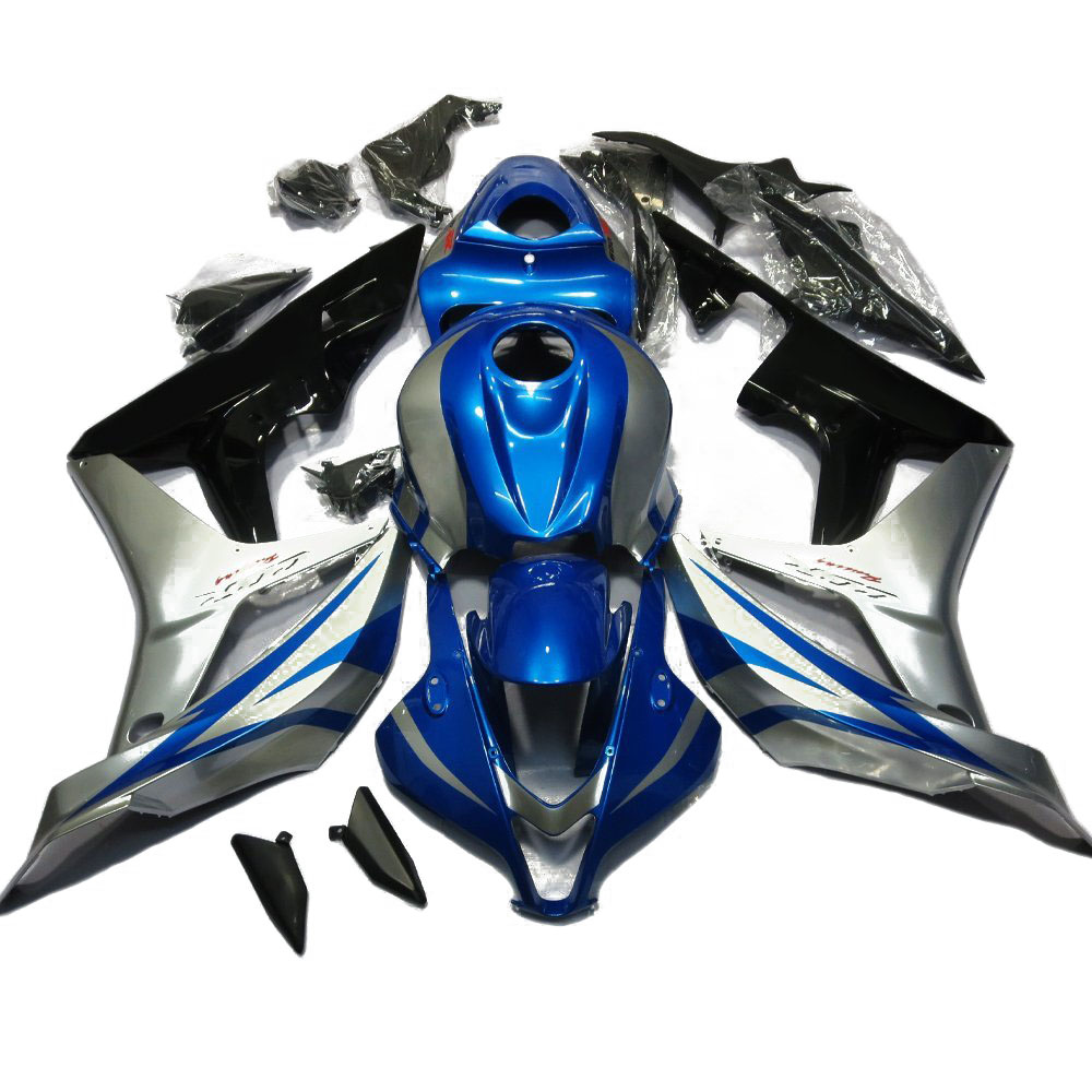 CBR 600RR F5 07 08 carénage moto pour Honda CBR600RR CBR600 RR CBR 600RR 2007 2008 carénages de carrosserie bleu moulage par Injection