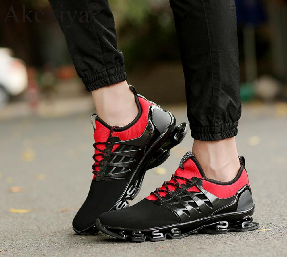 928afae63 Akexiya Summer New Breathable Men Running Shoes Cushioning Blade Sneakers  Men Sport Shoes Traveling For Walking Shoes Masculine