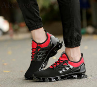 Akexiya Summer New Breathable Men Running Shoes Cushioning Blade Sneakers Men Sport Shoes Traveling For Walking Shoes Masculine