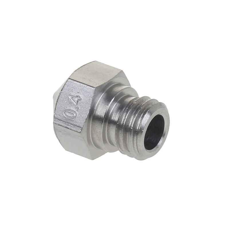 5Pcs MK10 Stainless Steel Nozzle untuk 3D Printer Bagian 0.4 Mm 1.75 Mm Filamen M7 Benang Nozel