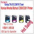 Для Konica C450 C350 C351 C450P Заправляемый Тонер  для Konica 350 351 450 TN310 TN-310 TN310K TN310C TN310M TN310Y тонер-картридж