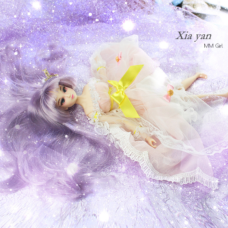 Fortune Days MM Girl like BJD Blyth Doll Xia yan with makeup Reborn girls 14 Joint