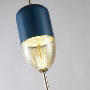 Image 4 - زجاج حديث بسيط الكرة نجفة مزودة بإضاءات ليد E27 آرت ديكو أوروبا مصباح معلق مع 8 أنماط لغرفة النوم مطعم المطبخ صالون