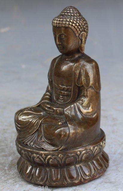 13cm Bronze Buddha 2