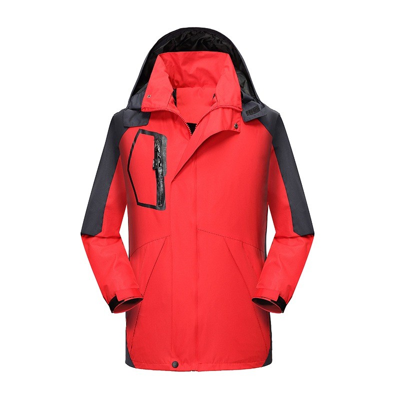 New Spring Autumn Men's Soft Shell Mountaineering Jacket Men Outdoor Camping Climbing Ski Jacket Waterproof And Windproof
