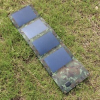 High Quality Portable 6W Solar Charger Flexiable Solar Panel Battery Charger For Iphone Mobile Power Bank