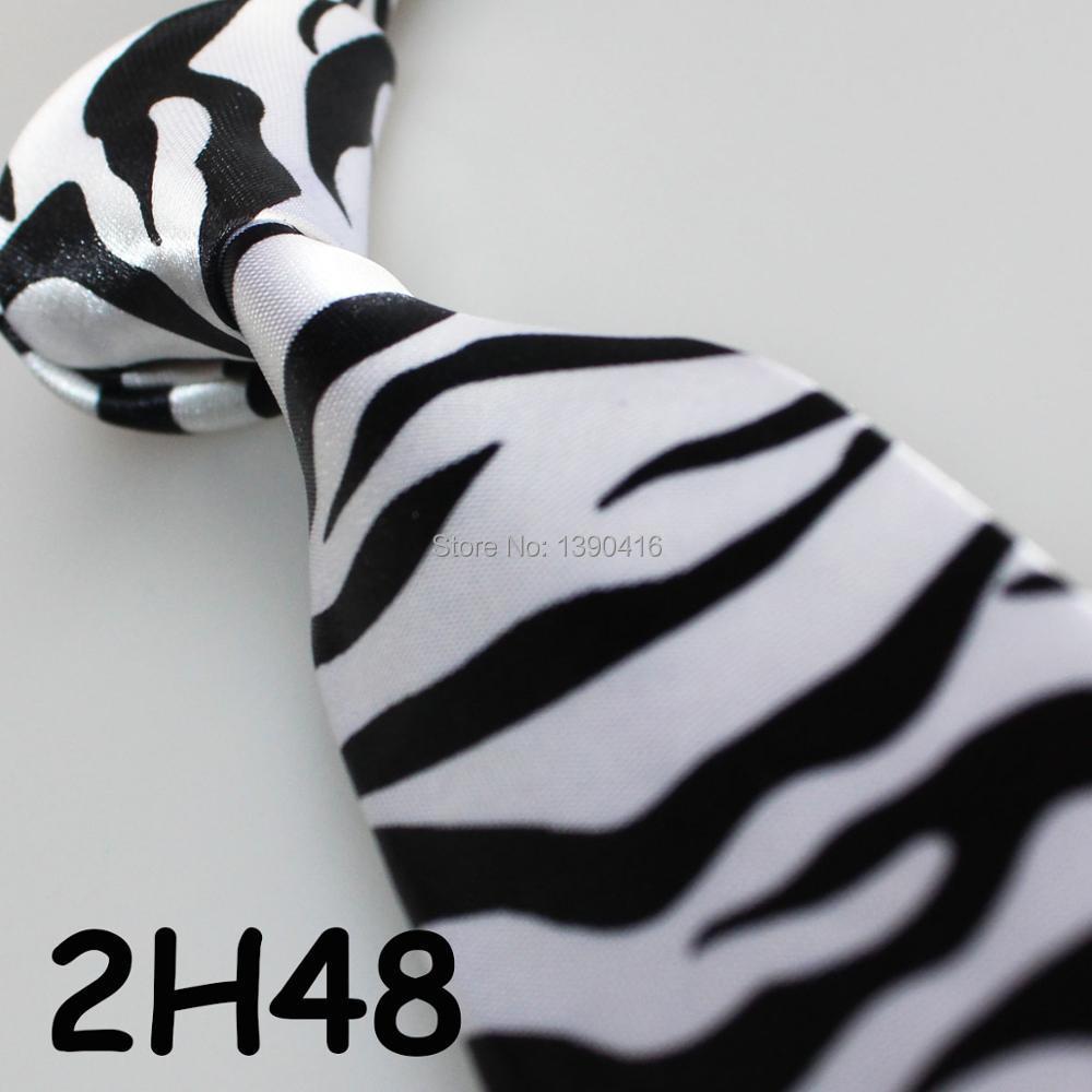 100% Wahr Xincai Schweren Rabatt! Hohe Umsatz! 2018 Neueste Style Fashion/neuheit Schwarz/weiß Zebra Streifen Krawatte Für Leistung/dance Krawatte