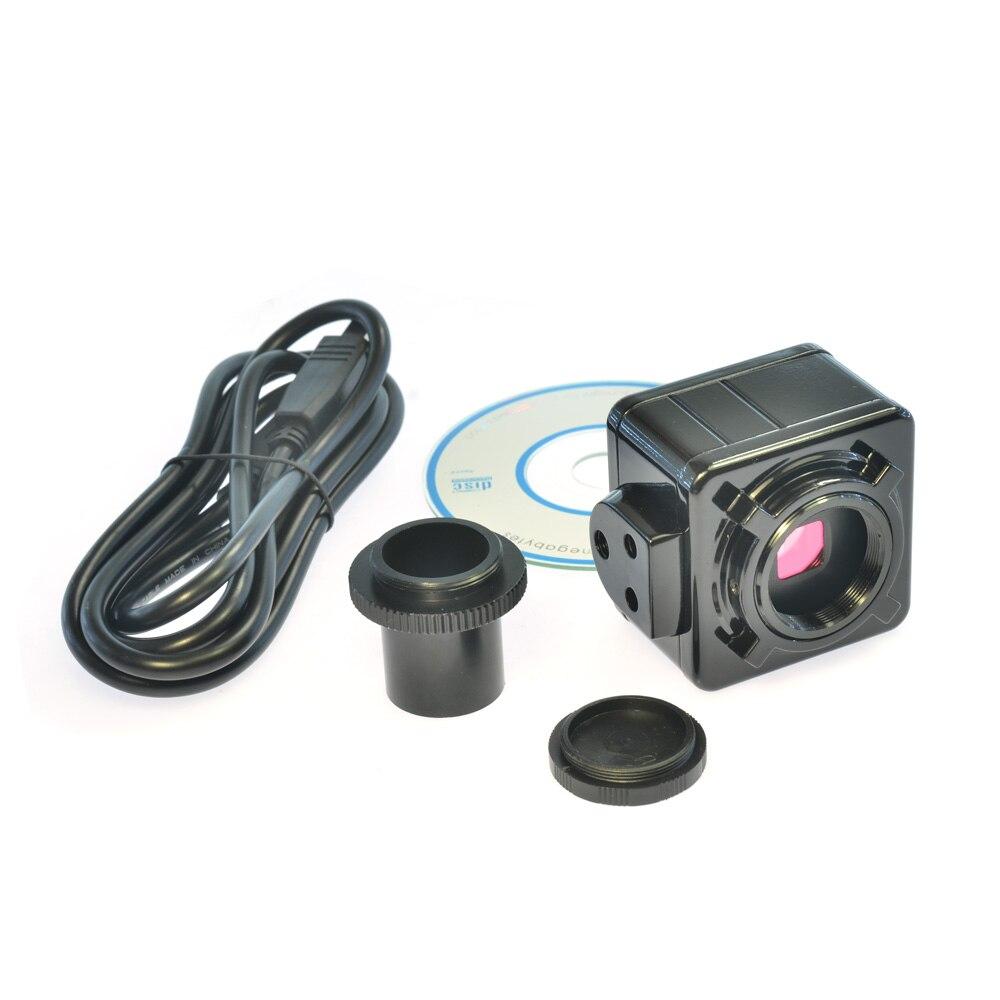 5.0MP Cmos USB Câmera Ocular Do Microscópio Eletrônico Digital Livre Driver/Software de Medição de Alta Resolução para WIN10/7/ 8