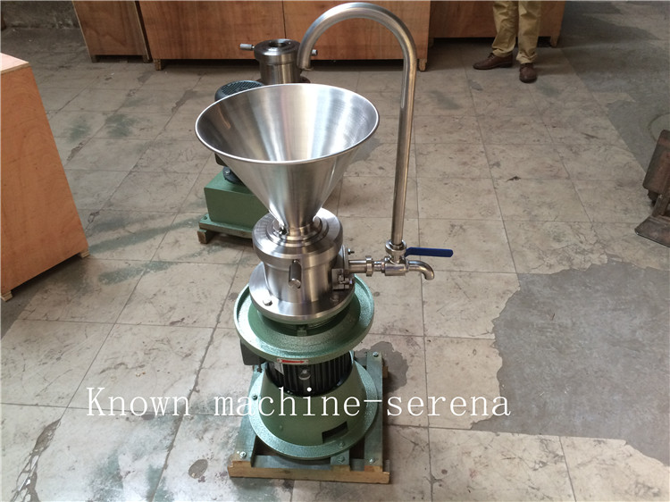 Stainless steel soy sauce, jam peanut butter sesame colloid mill making machineStainless steel soy sauce, jam peanut butter sesame colloid mill making machine