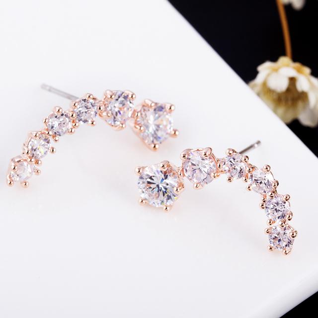 Stars Element Crystal Earrings