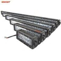 4D Lens 7.5 16 24 32 41.5 50 52Inch 36W 72W 120W 180W 240W 288W 300W Light Bar For Offroad Car SUV Truck 12V 24V
