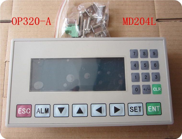 Text Display Module for OP320-A OP Operate Panel With RS232//RS422 HMI PLC