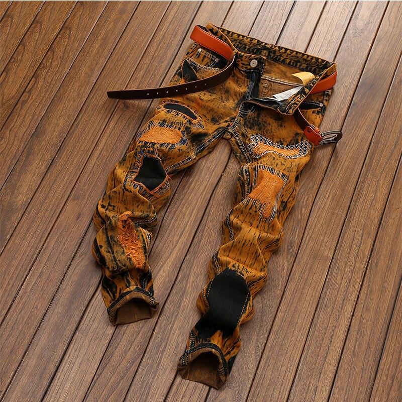 High Quality 2020 New Desing Men Jeans  Straight Casual Denim Vintage Jeans Plus Size 28-42