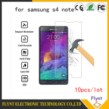 500pcs a lot Tempered Glass for Samsung Galaxy note 3 Note 4 note5 S4 S6 Cover Protective Film Screen Protector case  G