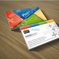 500pcs Double Faced Printing Paper Business Card With Matte Lamination Business Card Printing Free Shipping