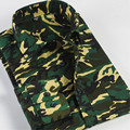100% cotton Mens Long Sleeve Camouflage Shirt Men Army Casual Shirt Military Slim Fit Camo Male Shirts 2016