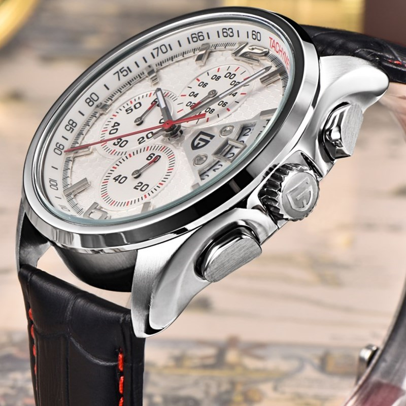 PAGANI DESIGN Luxury Brand Watches Men Casual Multifunction Quartz Chronograph Sport Waterproof Watch Relogio Masculino S