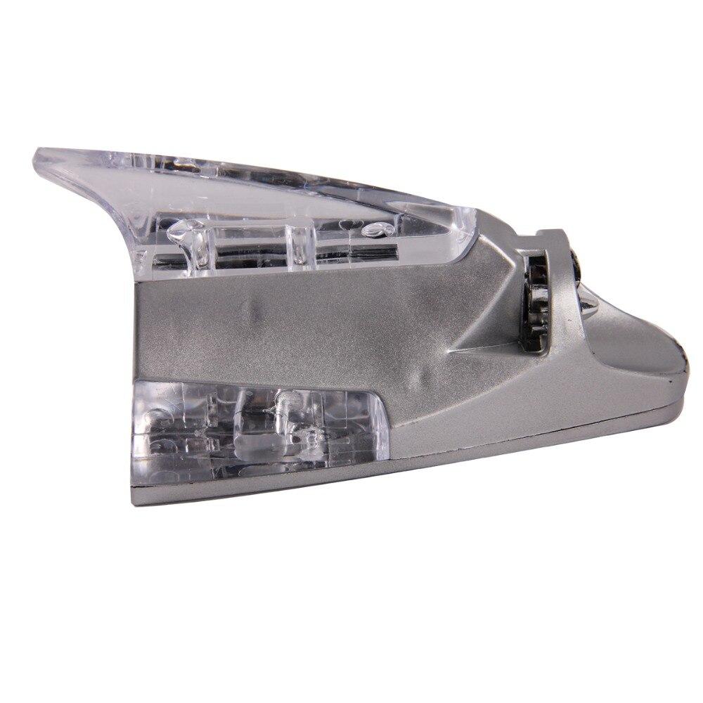 Posbay универсальное украшение на крышу автомобиля Антенна Серебряная крыша ветряная мощность светодиодный светильник антенна многоцветный светодиодный автомобиль Акулий плавник антенны