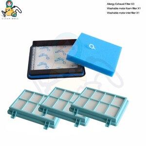 Image 1 - Filtros hepa para aspirador de pó para philips filtro fc8010/01 fc9328 fc9331 fc9334 fc9349 FC9530 FC9353 fc9515 fc9516 peças sobresselentes