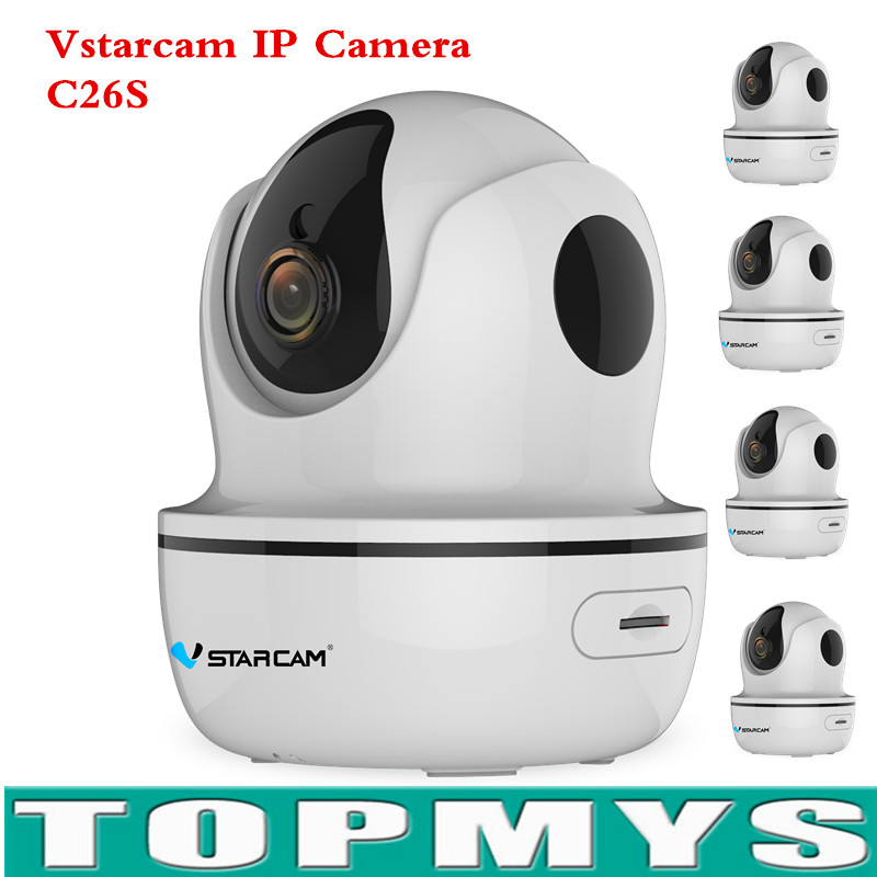 Vstarcam WIFI IP Camera C26S HD 1080P Wireless Night Vision Two-way audio P2P Onvif Baby Monitoring Home Security CCTV IP Camera smart mini camera wifi support two way audio night vision sd card onvif motion detect camera with wifi for home security