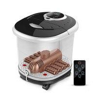 Ведро постоянная температура Здравоохранение spa удаленного автоматического массажа ног нагрева машина ванна для ног умывания ролик электр