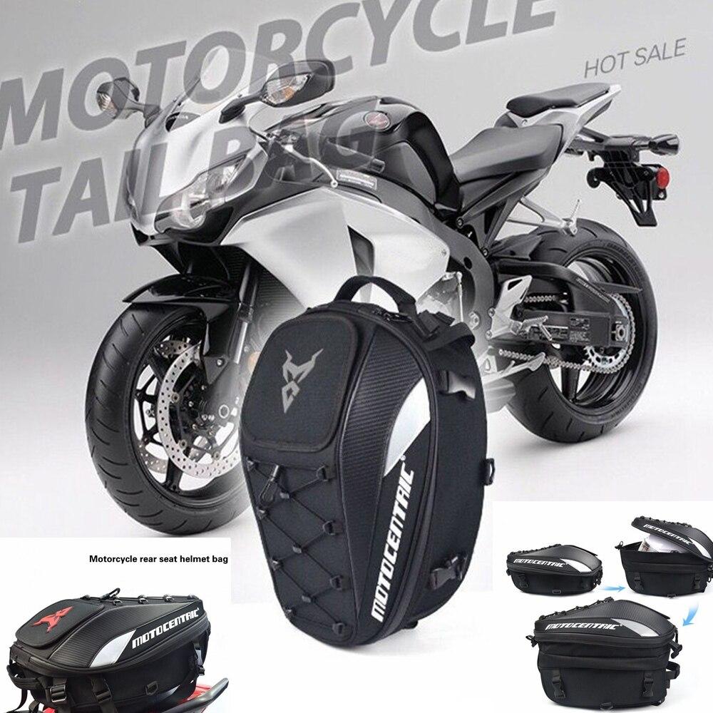 Motorbike Luggage Rear Seat Rider Bag Moto Helmet Travel Bags Suitcase Saddlebags For KTM PIAGGIO Aprilia Honda Yamaha Harley кофры komine
