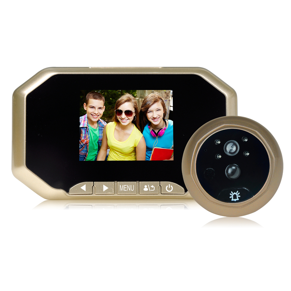 2MP 160 Degree Wide Angle Peephole Viewer Video Door Phone 2MP 160 Degree Wide Angle Peephole Viewer Video Door Phone