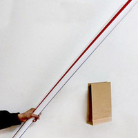 Free Shipping Big Straw The Straw From Empty Hand Magic Props Magic Toys
