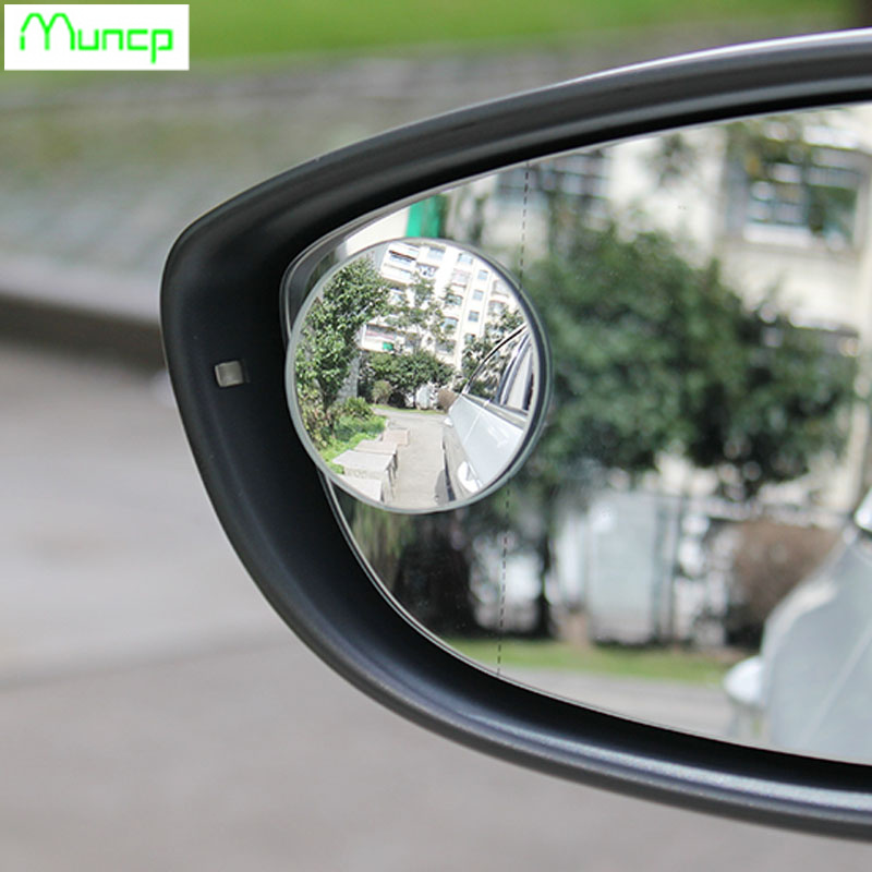 Volkswagen Cabrio Rearview Mirror Rearview Mirror For: 2 Pcs. 360 Degrees Frameless Small Round Rearview Mirror