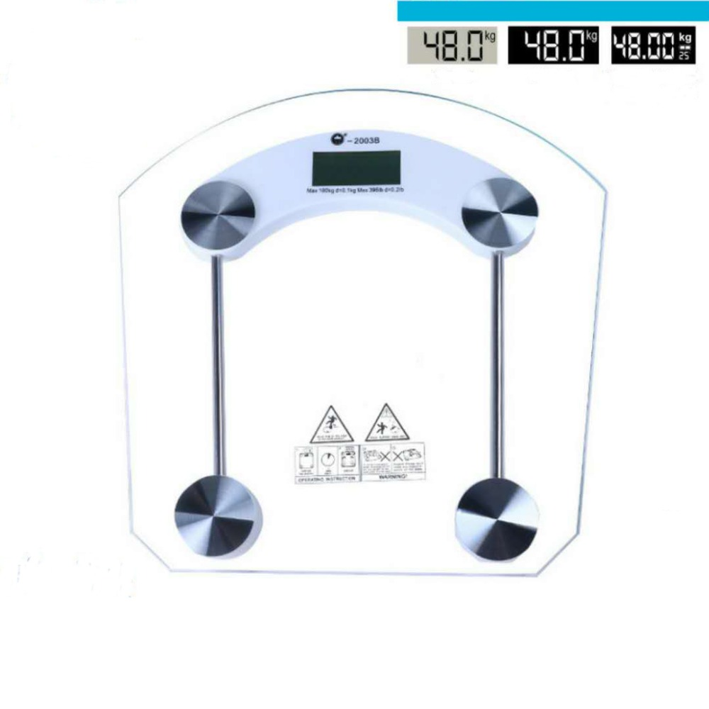 Weight scales Home health scales Weight scales Transparent electronic scales Accurate weight measurement 018