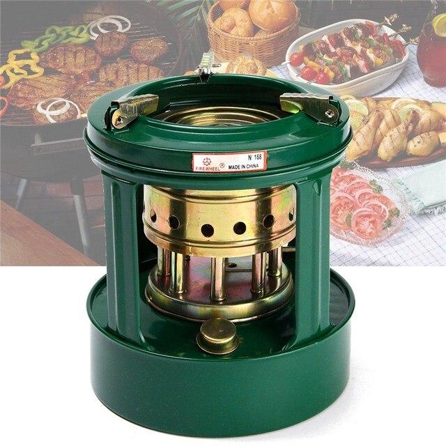 1pc Handy Outdoor 8 Wicks Kerosene Stove Burner Camping Heaters Portable Picnic Cooker
