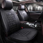 O SHI CAR artificial leather seat cover Protect automobile interior,2018 new auto seat cushion pad universal