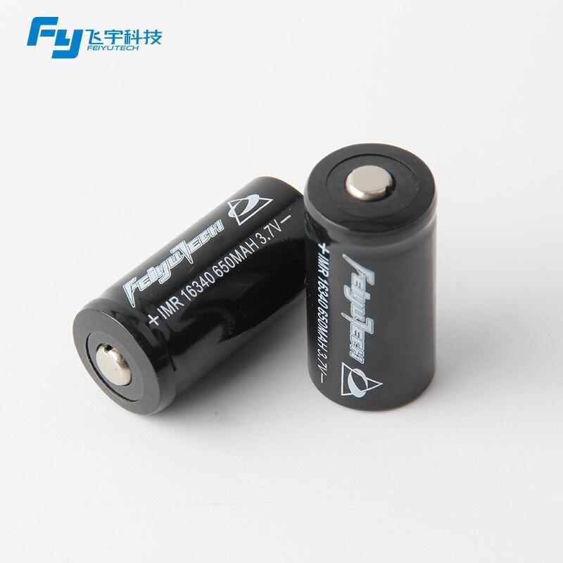 (In stock) Original Feiyu WG battery G3 rechargeable battery 16340 Battery for Feiyu tech FY gimbal