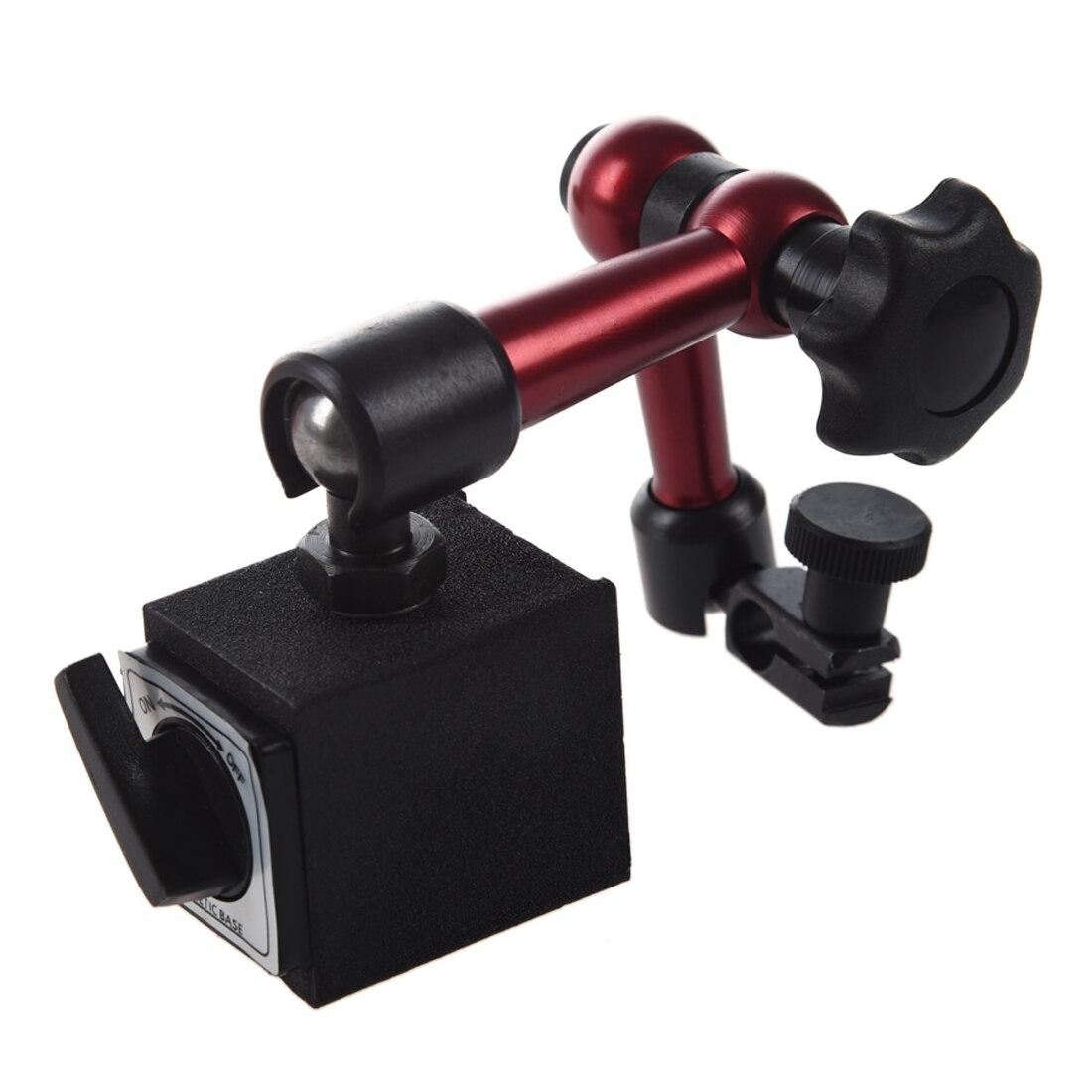 Adjustable Magnetic Gauge Stand Base Holder Digital Level Dial Test Indicator