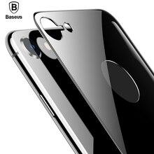 Baseus 4D задняя закаленная стеклянная пленка для iPhone 8 ультра тонкий полный экран покрытие Задняя стеклянная Защитная пленка для iPhone 8 Plus