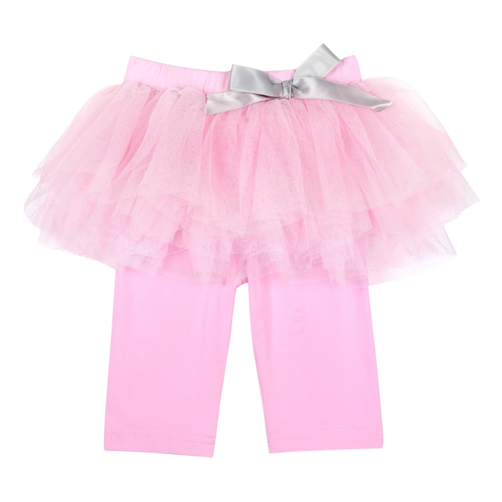 Princess-Girl-Kids-0-3Years-Culottes-Leggings-Gauze-Pants-Party-Bow-Tutu-Skirts-Hot-1